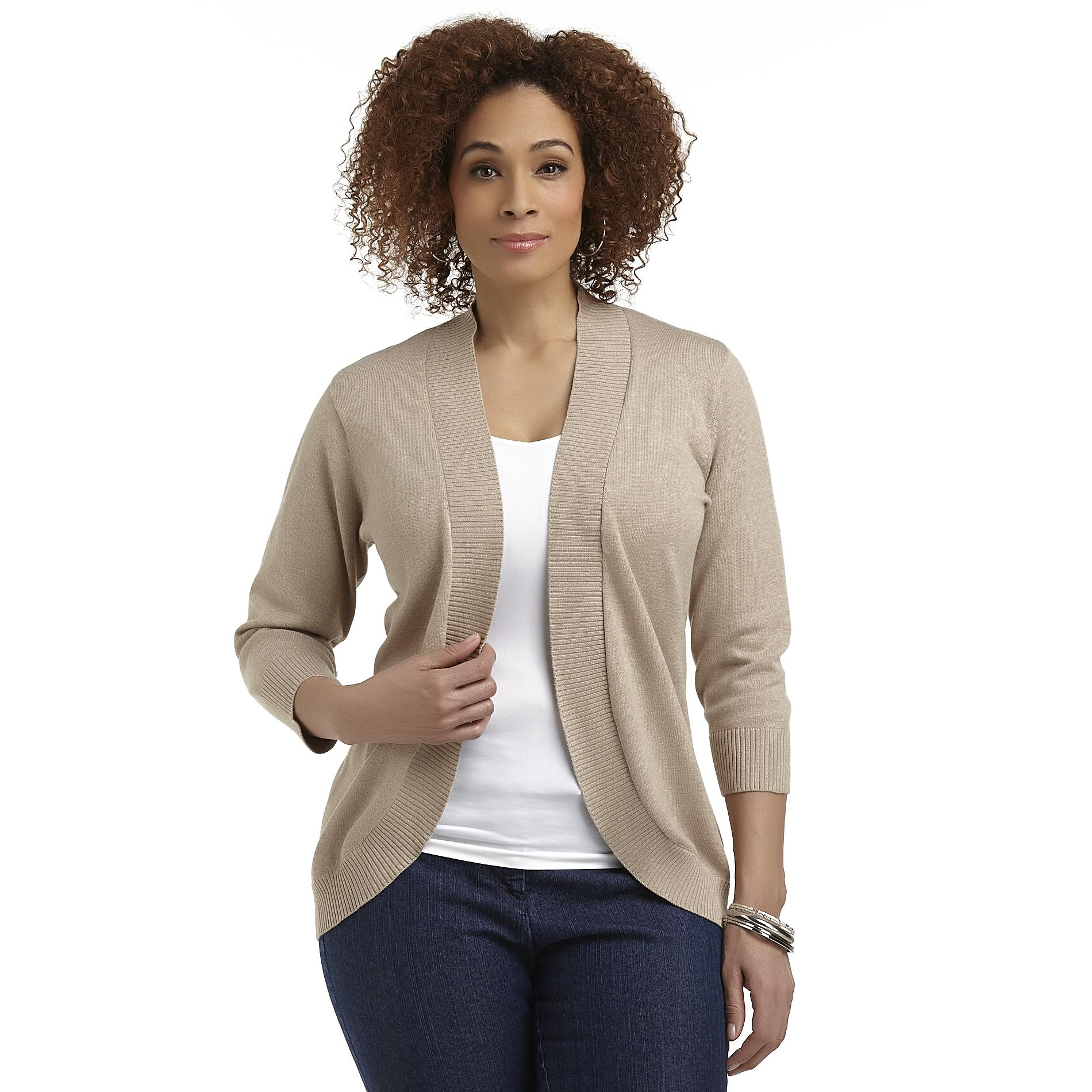 Beverly Drive Women's Plus Shrug Sweater at Sears.com
