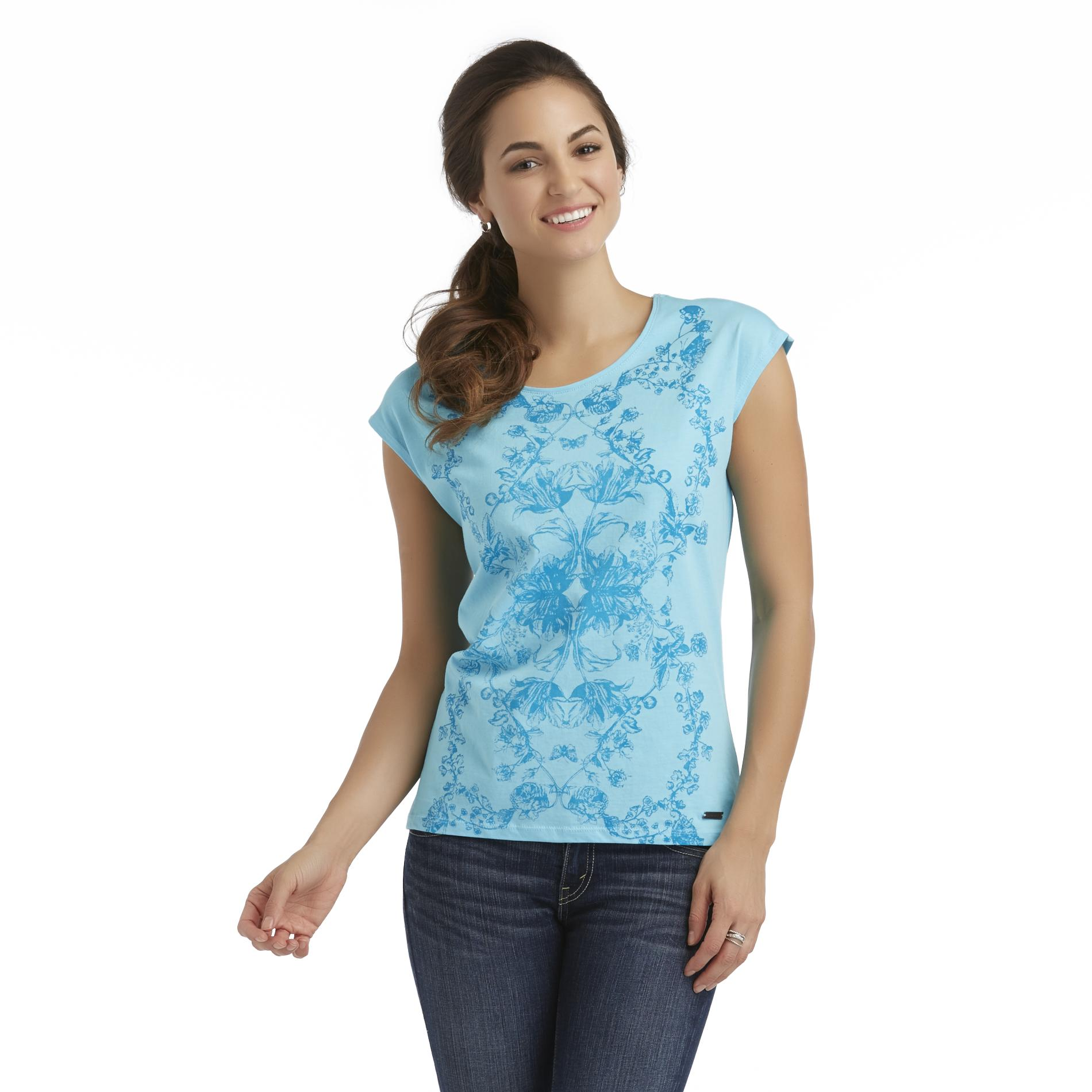 U.S. Polo Assn. Women's Sleeveless Top - Floral at Sears.com