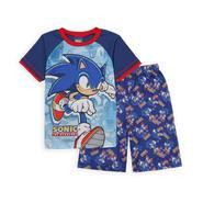 Sonic the Hedgehog Sega Boy's Pajama Shirt & Shorts at Kmart.com