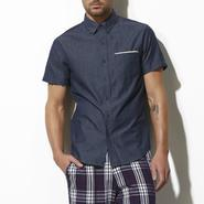 Adam Levine Men's Button-Down Denim Shirt at Sears.com