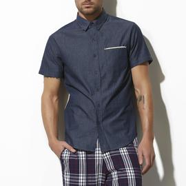 Adam Levine Men's Button-Down Denim Shirt at Kmart.com