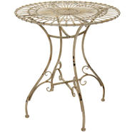 Oriental Furniture Rustic Garden Table - Distressed White at Kmart.com
