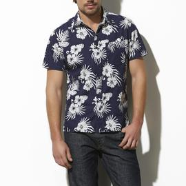 Adam Levine Men's Poplin Shirt - Hawaiian Print at Kmart.com