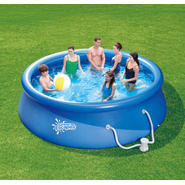 ClearWater 12 ft. x 36 in. Quick Set Ring Pool Set at Kmart.com