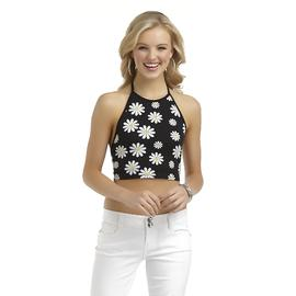 Bongo Junior's Halter Crop Top - Daisy Floral at Sears.com