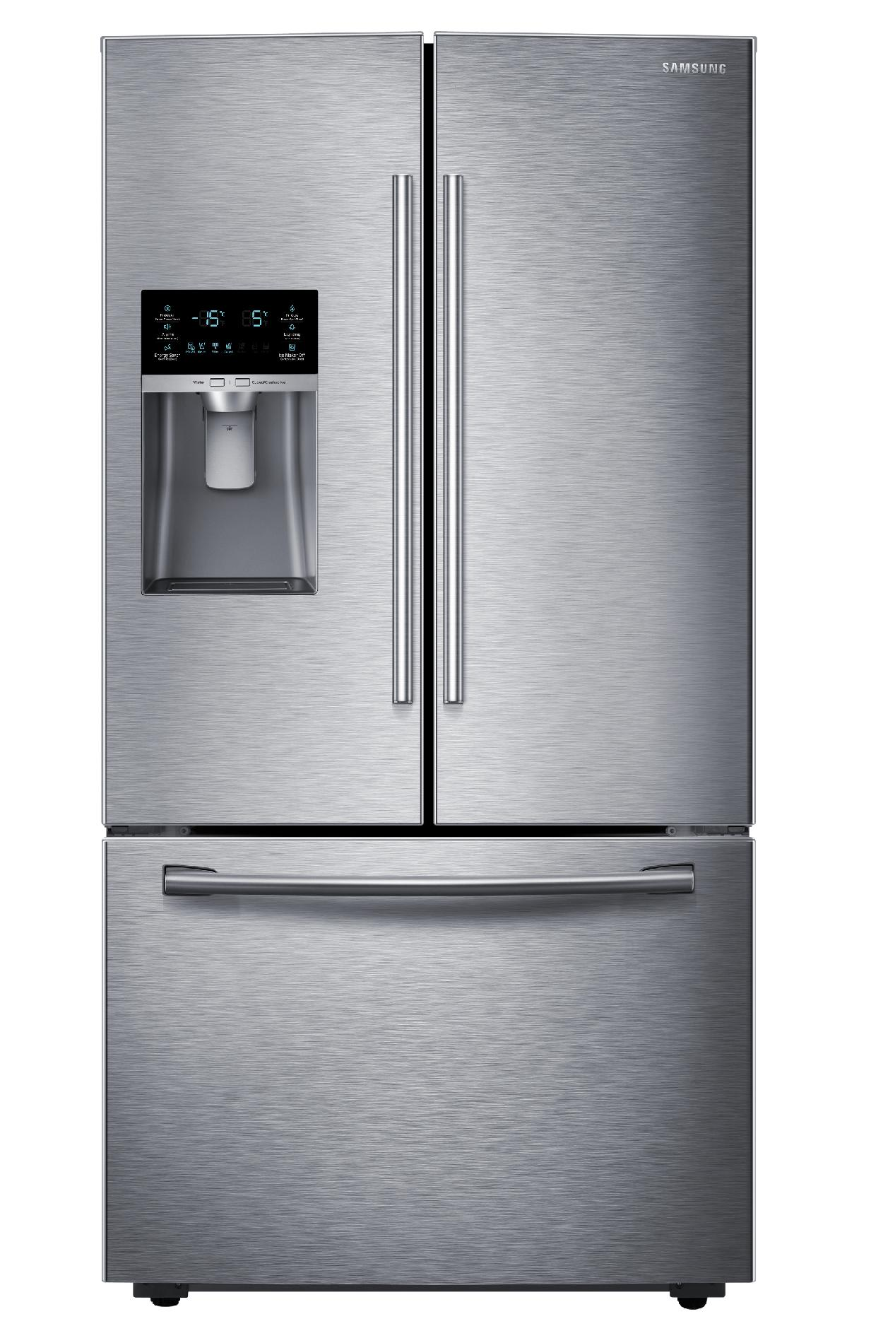 Samsung RF23HCEDBSR/AA 22.5 cu. ft. Counter-Depth French Door Refrigerator - Stainless Steel