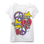 Route 66 Girl's Graphic T-Shirt - Peace &