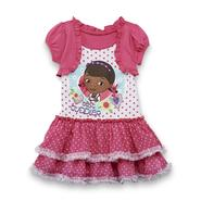 Disney Doc McStuffins Toddler Girl's Layered-Look Dress at Kmart.com