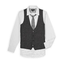 Attention Men's Dress Shirt, Vest, & Necktie at Kmart.com