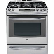 GE 5.6 cu. ft. Slide-In Gas Range w/ Convection - Stainless Steel at Sears.com