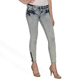 Vanilla Star Junior's Zippered Skinny Jeans - Light Wash at Sears.com