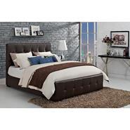 Dorel Home Furnishings Florence Savage Brown Full Upholstered Bed at Kmart.com