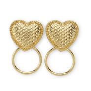 Nicki Minaj Women's Drop Earrings - Heart & Circle at Kmart.com