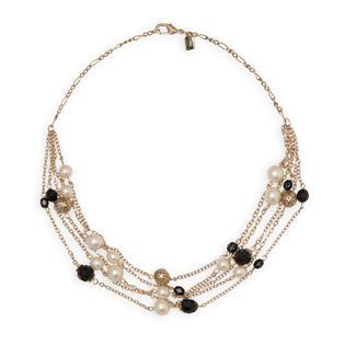 1928 Jewelry Women's Goldtone Beaded Multi-Strand Necklace