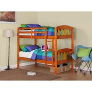 Dorel Asia Twin Solid Honey Pine Bunk Bed at Kmart.com