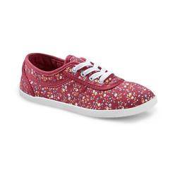 Women's Eavan Canvas Lace Oxford - Pink/Floral at Kmart.com