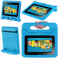 i-BLASON ArmorBox Kido For Kindle Fire HD 7 Convertable Stand Cover Case, Blue at Kmart.com