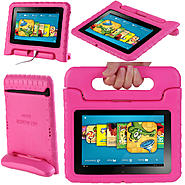 i-BLASON ArmorBox Kido For Kindle Fire HD 7 Convertable Stand Cover Case, Pink at Kmart.com
