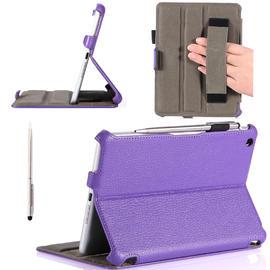 i-BLASON Book Shell Stand Case Cover Apple iPad Mini with Bonus Stylus, Purple at Kmart.com