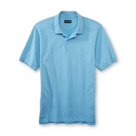 David Taylor Collection Men's Polo Shirt - Diamond Check at Kmart.com