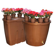 Koolscapes Decorative 50 Gallon Rain Barrel Twin Pack at Sears.com