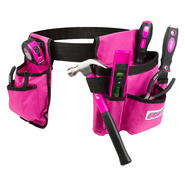 Cala Pink 7 Piece Tool Set With Tool Belt at Kmart.com