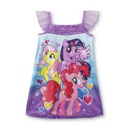 My Little Pony Toddler Girl's Sparkle-Sleeve Nightgown at Kmart.com