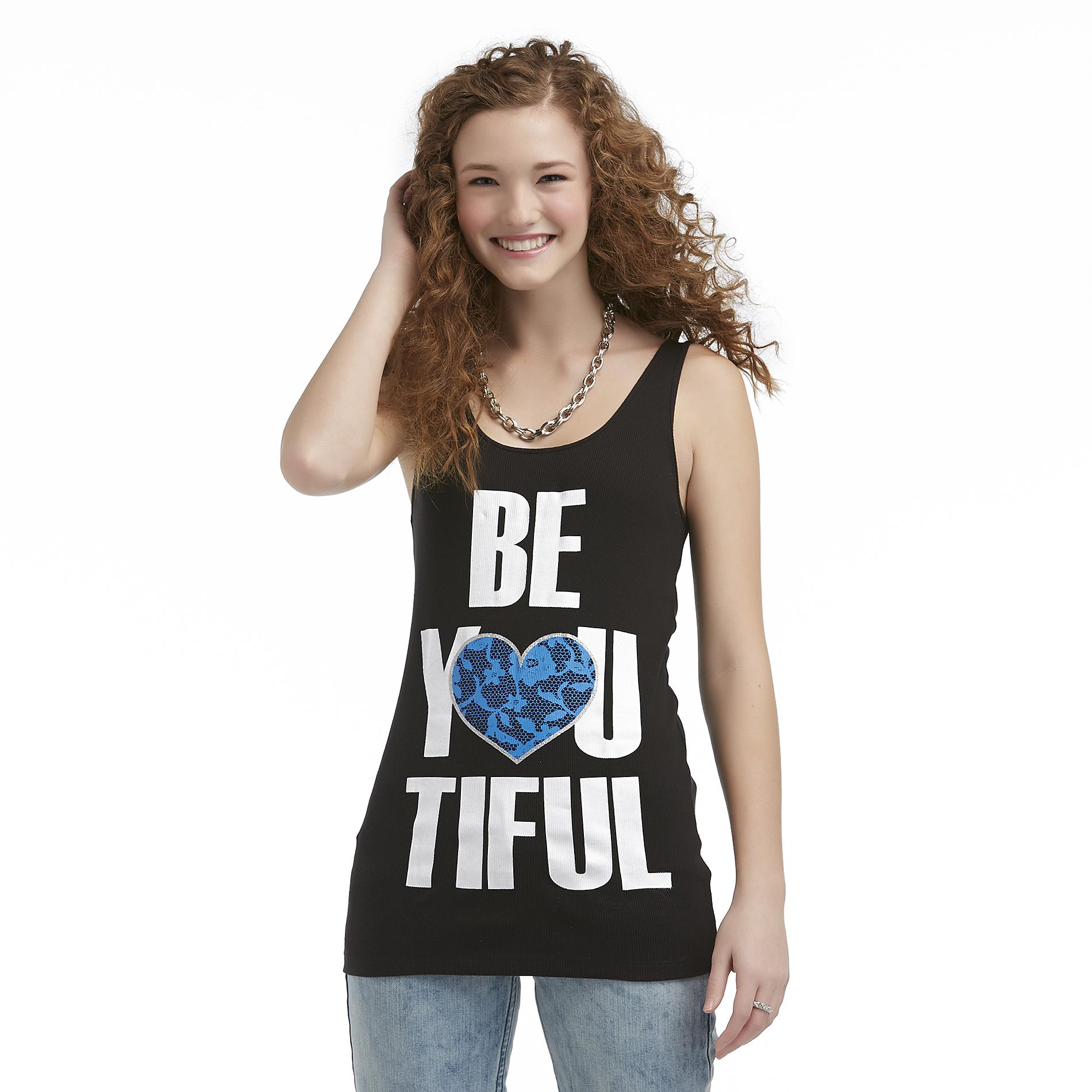 Joe by Joe Boxer Women's Graphic Tank Top - Heart at Sears.com