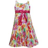 Ashley Ann Girl's Pleated A-Line Party Dress - Floral at Sears.com