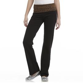 Joe by Joe Boxer Rollover Waist Bootcut Yoga Pant at Sears.com