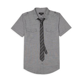 Attention Men's Dress Shirt & Skinny Tie at Kmart.com