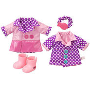 Funrise Toy Corp. Baby Alive Spring Showers Rain Coat 2-in-1 Reversible Outfit (Medium) at Kmart.com