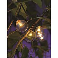 Garden Oasis 12 Ct. Clear Glass Bulb Light String at Kmart.com