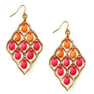Sofia by Sofia Vergara Women's Dangle Bead Earrings - Goldtone at Kmart.com
