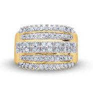 Gold Plated 1.00Cttw. Diamond Ring at Sears.com