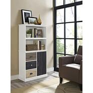 Altra Mercer White Storage Bookcase with Multicolored Door & Drawers at Kmart.com