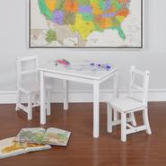 Dorel Asia Kiddy White Dry Erase Top Table & Chair Set at Kmart.com