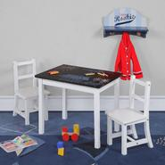 Dorel Asia Kiddy White Chalkboard Top Table and Chair Set at Kmart.com