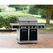 5-Burner Gas Grill with Ceramic Searing and Rotisserie Burners at Kmart.com
