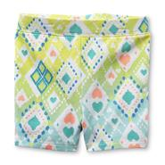 Toughskins Infant & Toddler Girl's Bike Shorts - Abstract at Sears.com
