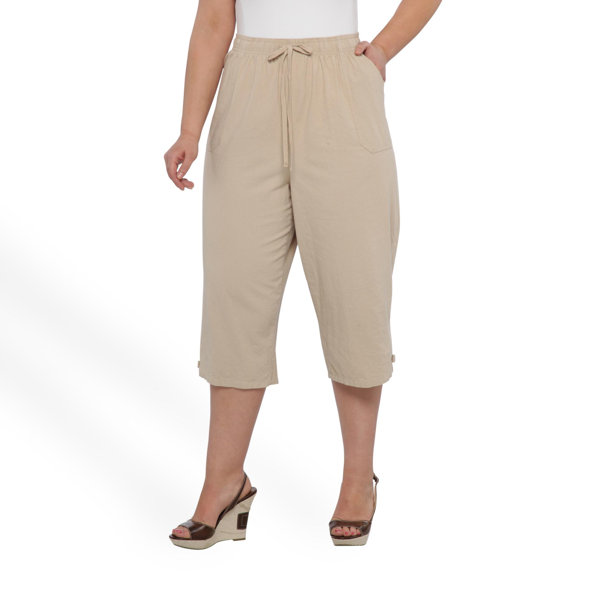 Erika Women's Plus Cropped Pants at Sears.com