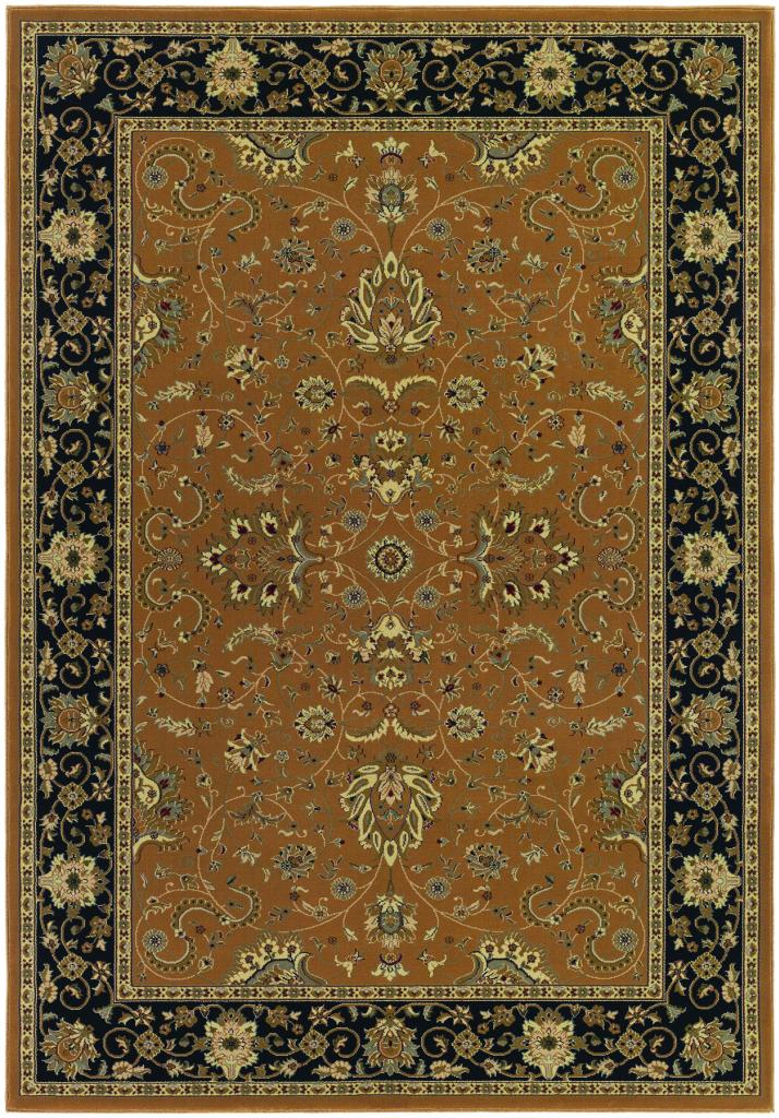 "Couristan Izmir Floral Bijar/Gold 2' x 3'11"" Area Rug PartNumber: 03704810000P KsnValue: 8240156 MfgPartNumber: 70164000020311T"