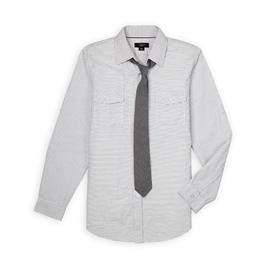 Attention Men's Dress Shirt & Necktie - Striped at Kmart.com