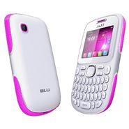 BLU Samba TV Q170T Unlocked GSM Dual-SIM Cell Phone - White/Pink at Sears.com