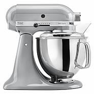KitchenAid Artisan Series Metallic Chrome 5 Quart Stand Mixer at Sears.com