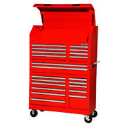 "Craftsman 42"" 20-Drawer Ball Bearing Slides Wall Tower Combo Red at Sears.com"