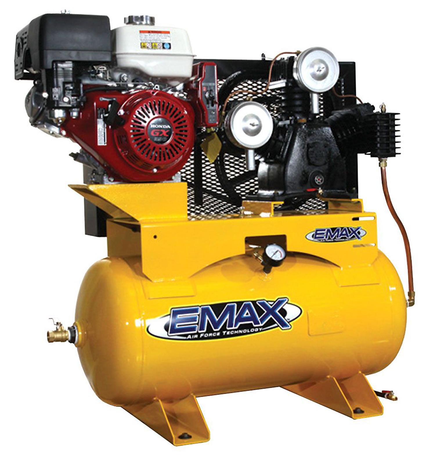 EMAX 13 HP 30 Gallon Two Stage HONDA Elec Start Compressor - EGES1330ST PartNumber: 00928059000P KsnValue: 2975928 MfgPartNumber: EGES1330ST