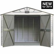 Craftsman 10-ft. x 7-ft. Vinyl-Coated Steel Shed - CVCS107 - Exclusive VersaTrack™ Compatibility at Sears.com