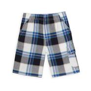 Basic Editions Boy's Pull-On Cargo Shorts - Plaid at Kmart.com