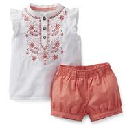 Carter's Newborn & Infant Girl's Sleeveless Top & Bubble Shorts at Sears.com